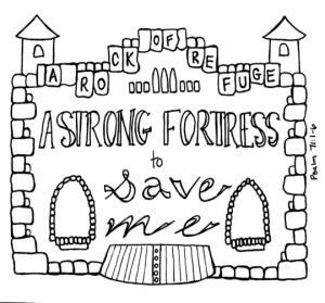 Psalm 71 Strong Fortress